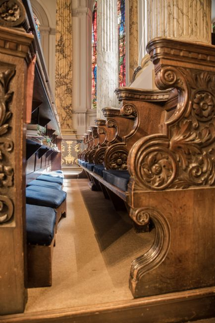 Jacovos Jacovou | St Philips Cathedral pews