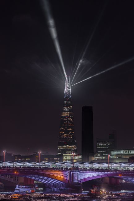 Jacovos Jacovou | The Shard new years eve