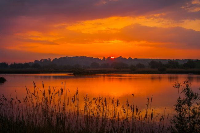 Jacovos Jacovou | Sunrise over Drayton RSPB