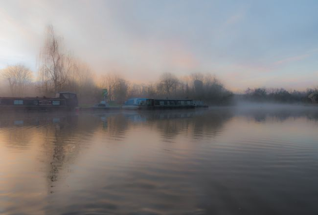 Jacovos Jacovou | Mist on the River Lee