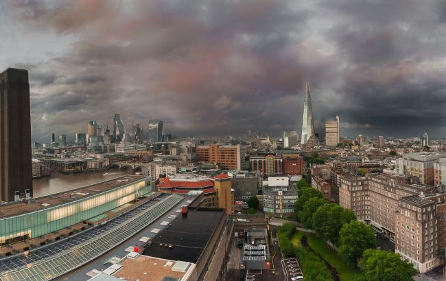 Jacovos Jacovou | Stormy London View