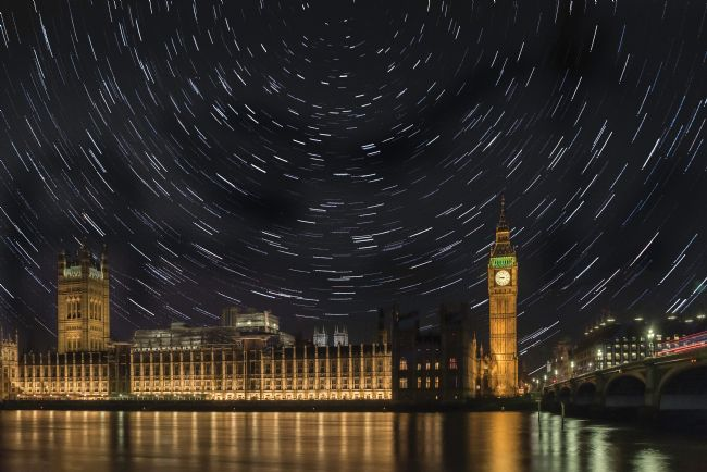 Jacovos Jacovou | Big Ben star trails