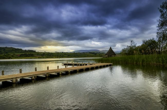 Gordon Maclaren | Llangorse Lake and the Crannog