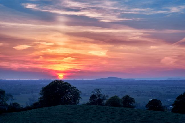 Gordon Maclaren | Awesome Somerset Sunset