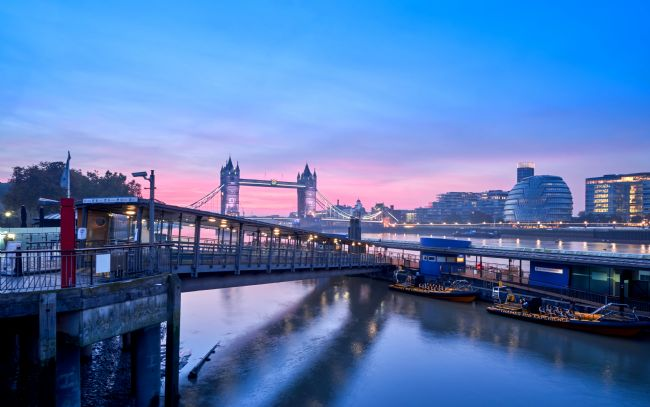 Gordon Maclaren | Tower Bridge, London, at sunrise