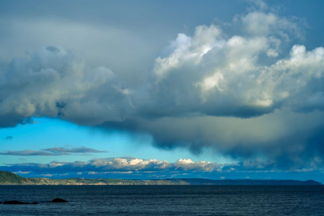 Gordon Maclaren | Cloud formation over Whitsand Bay, Looe, Cornwall