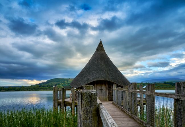 Gordon Maclaren | The Crannog Llangorse Lake Brecon Beacons