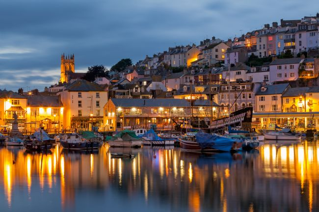 Bruce Little | Brixham Blue Hour Reflections