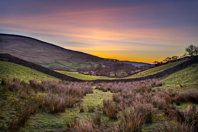 Kevin Cook | Sunrise in Swaledale