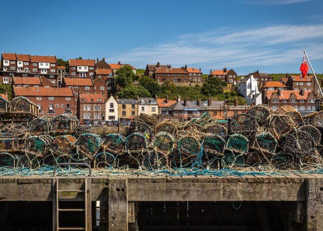 Kevin Cook | Whitby lobster pots