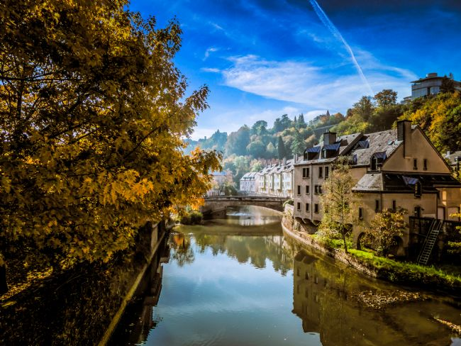 Gary Sanford | Views along the Alzette River