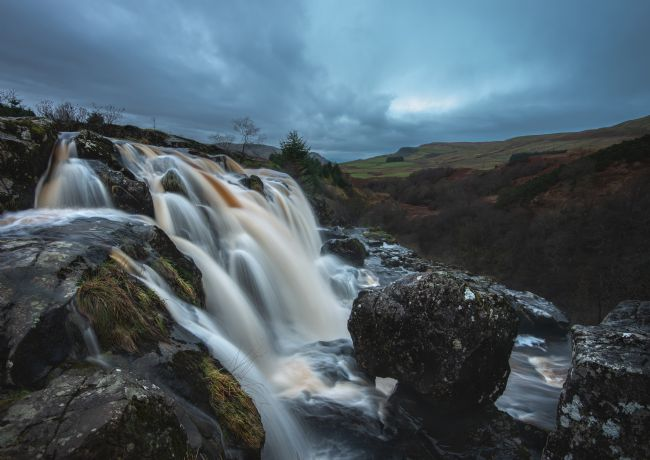 Anthony McGeever | The Loop of Fintry near Stirling and Fintry its part of the river Endrick