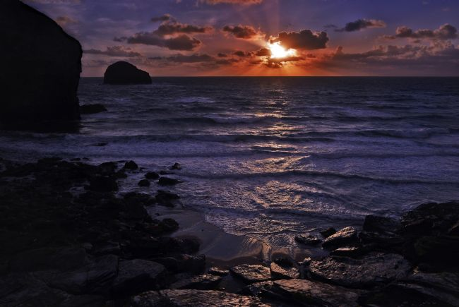 Paul Woloschuk | Trebarwith Strand Sunset 2