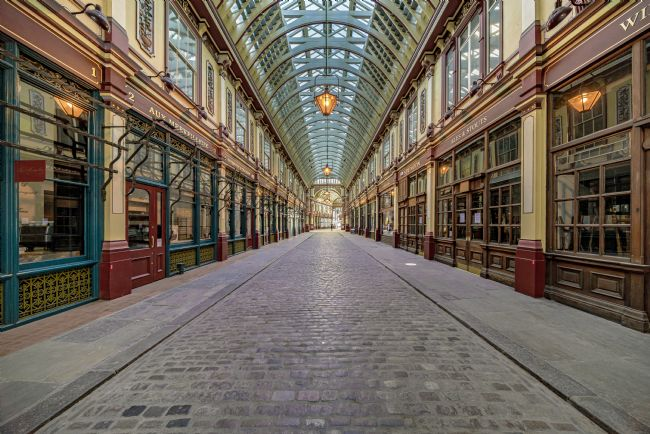 Andrew King | Leadenhall Market from Gracechurch Street