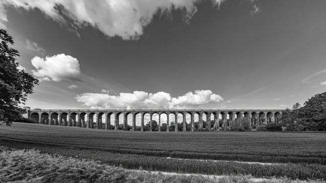 Andrew King | The Ouse Valley Viaduct - view from the West side