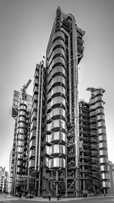 Andrew King | The Lloyd's Building from Leadenhall Street