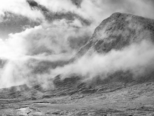 Andrew King | Buachaille Etive Mhor from the slopes of Beinn a Chrulaiste