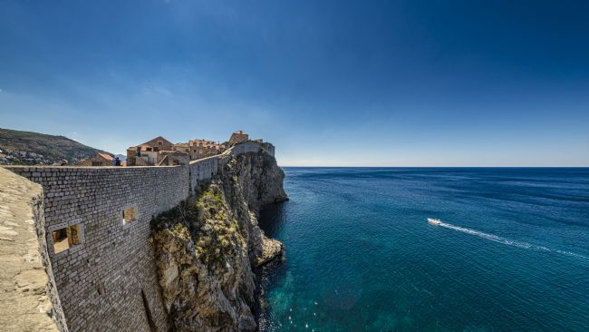 Andrew King | The City Walls, Dubrovnik
