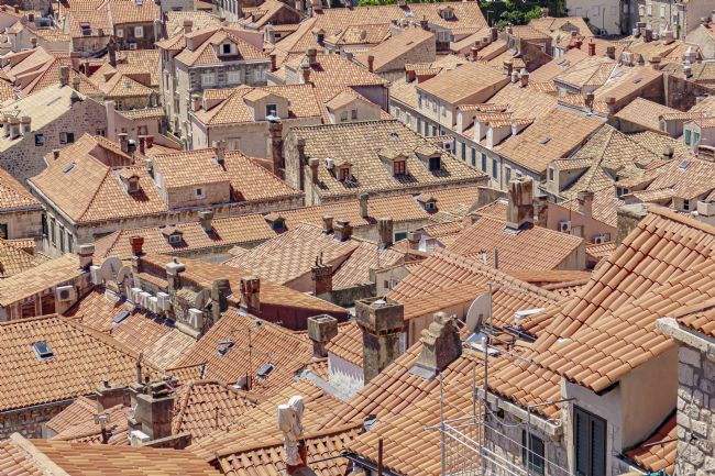 Andrew King | The Roofs of Dubrovnik
