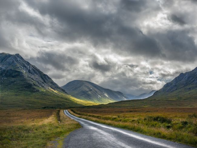 Jane McIlroy | Road Through Glen Etive, Scotland