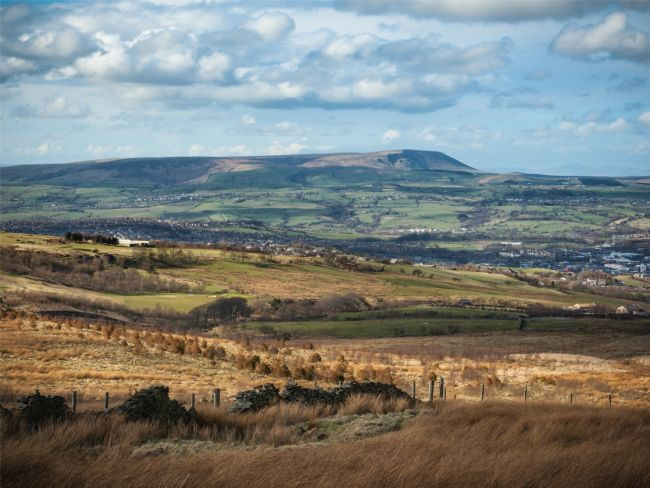 Jane McIlroy | Pendle Hill from Burnley, Lancashire