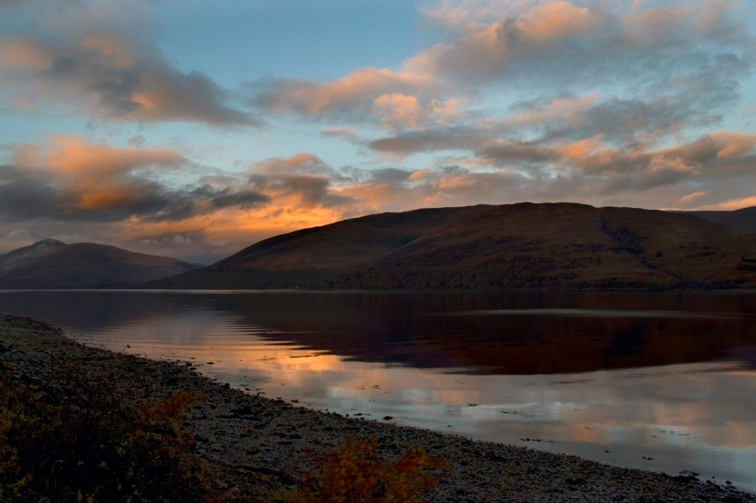 Linsey Williams | Sunrise over Loch Linnhe, Scotland