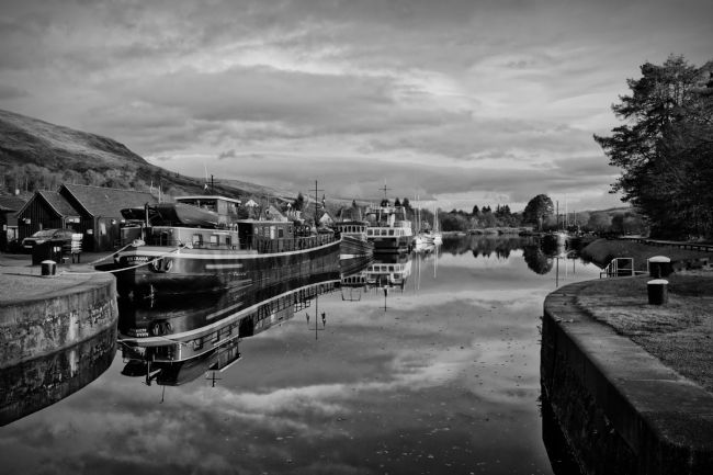 Linsey Williams | Caledonian Canal, Scotland