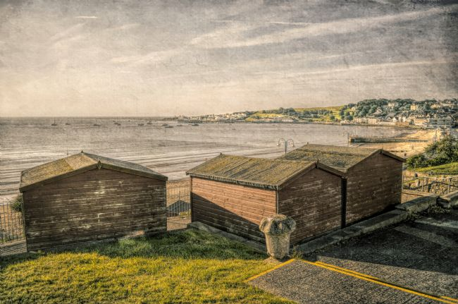 Linsey Williams | Swanage Beach huts and the Bay