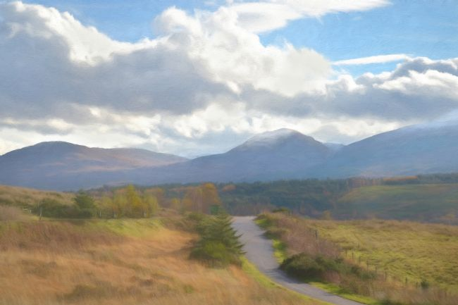 Linsey Williams | Road Through the Highlands