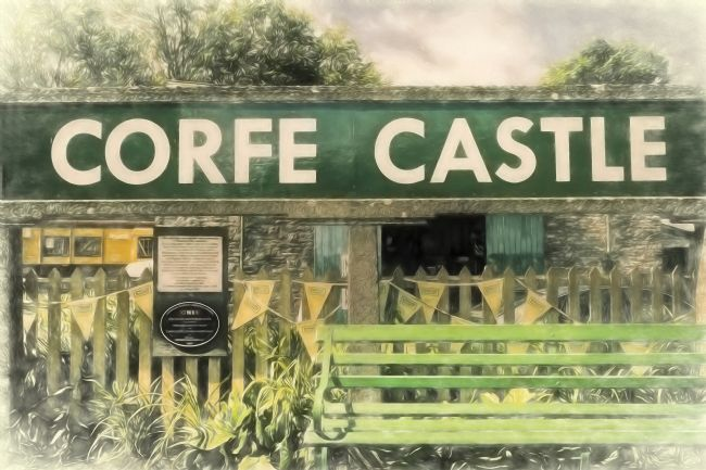 Linsey Williams | Corfe Castle Railway Station