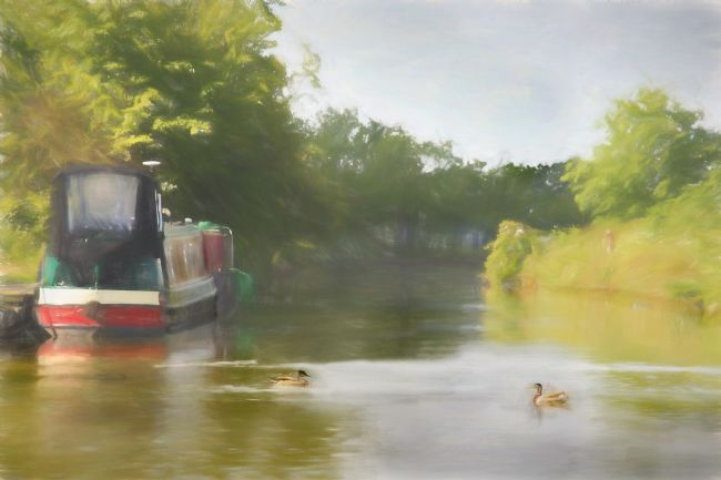 Linsey Williams | On the Grand Union Canal
