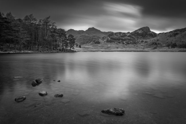 John Hare | Blea Tarn Black and White
