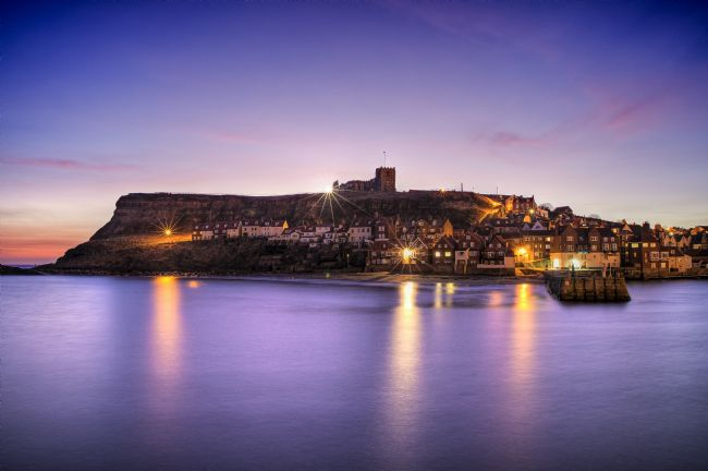 Janet Burdon | Twilight Glow, Whitby