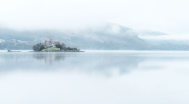 Janet Burdon | Morning Mist, Ullswater