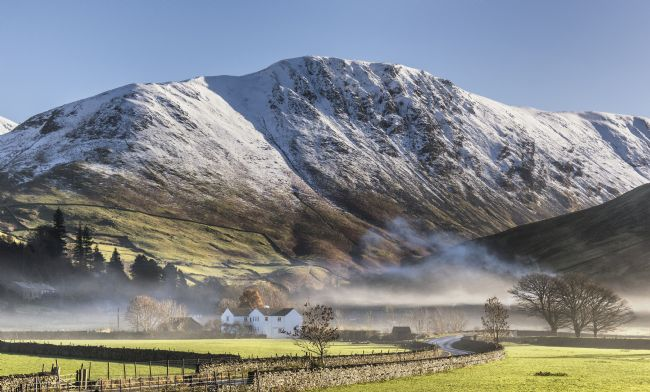 Janet Burdon | Hartsop In The Mist