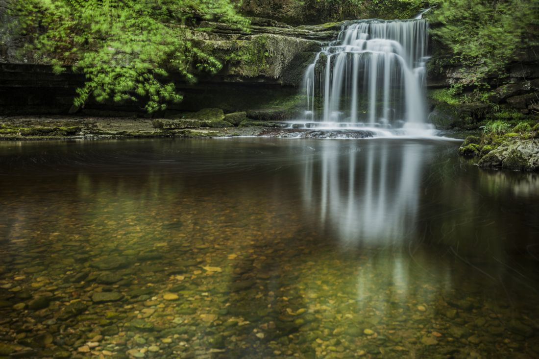 Sandra Cockayne | The Cauldron, West Burton Falls.