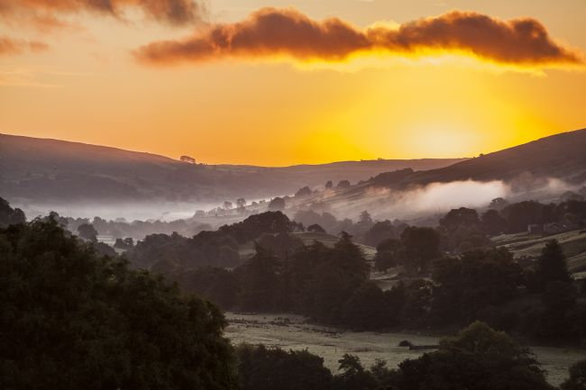 Sandra Cockayne | Swaledale Sunrise