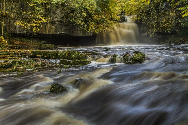 Sandra Cockayne | West Burton Falls - The Cauldron