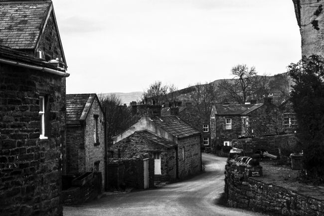 Sandra Cockayne | Gunnerside In Black & White