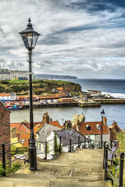 Sandra Cockayne | The Iconic 199 Steps Whitby