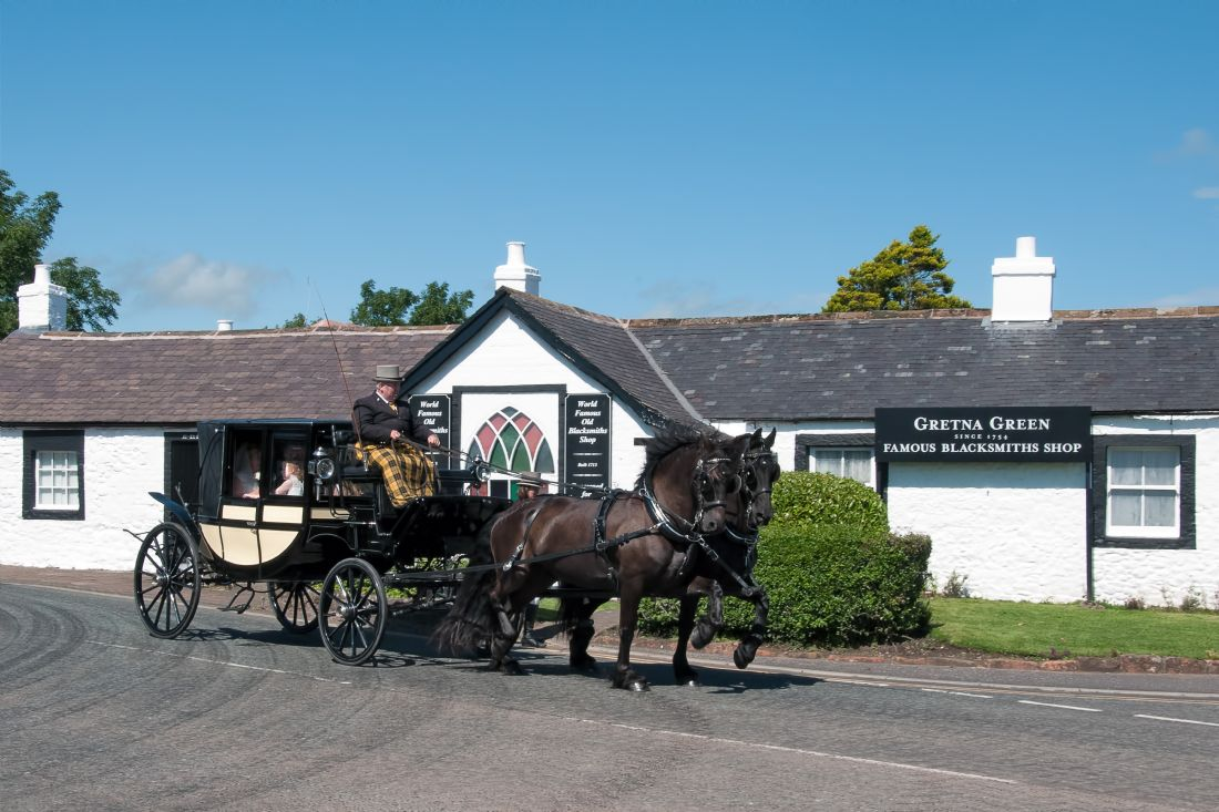 Steve Clark | Coach and Horses at Gretna Green