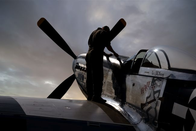 Steve Clark | P51 Mustang Preflight Checks