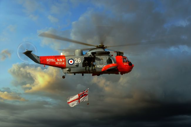 Steve Clark | Royal Navy Search and Rescue