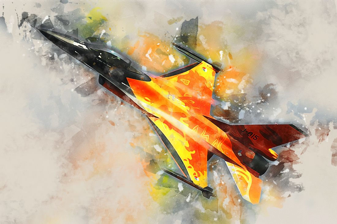 James Biggadike | Dutch F-16 - Painting