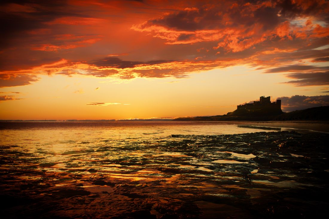 James Biggadike | Bamburgh Sunrise
