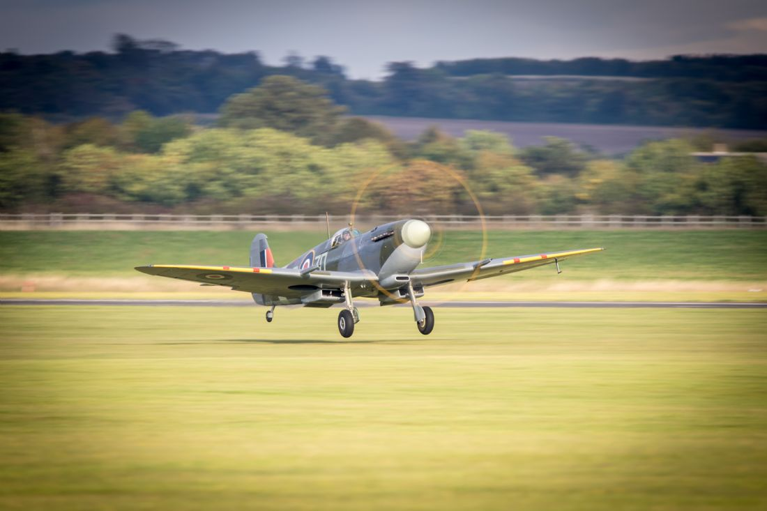 Airpower Art | Spitfire MH434 Takes Off
