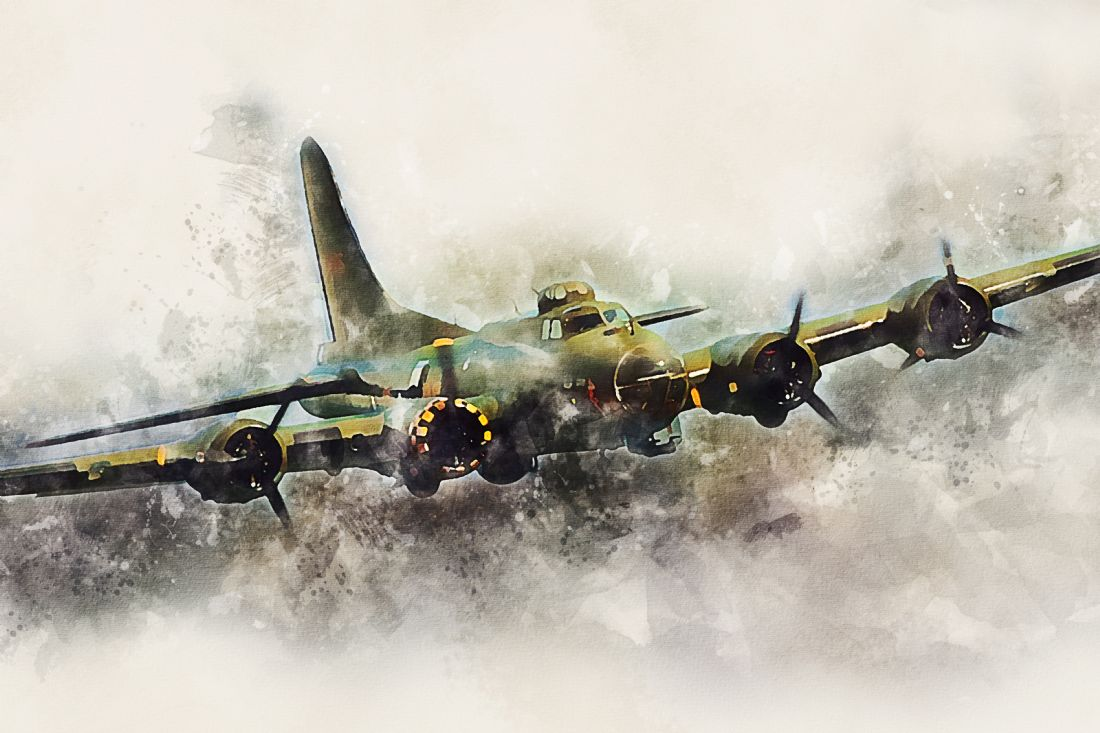 James Biggadike | Flying Fortress - Painting