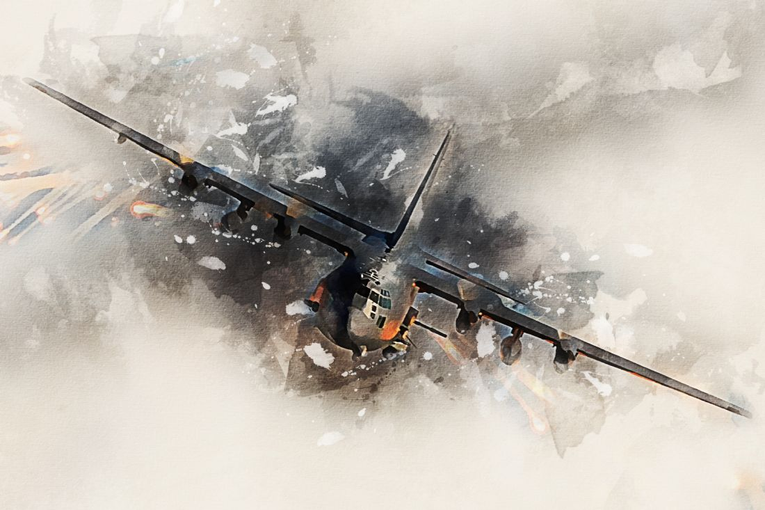 James Biggadike | AC-130 Gunship