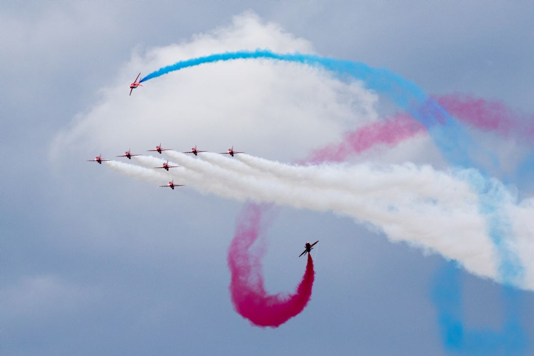Airpower Art | Red Arrows Tornado