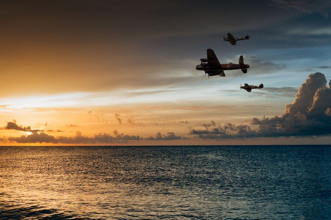 James Biggadike | BBMF Sunset